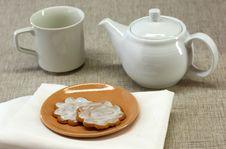 Free Cookies And Tea Stock Photos - 3967623