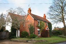 Free English Village House Royalty Free Stock Image - 3967656