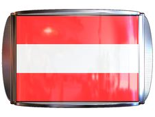 Free Flag To Austria Stock Image - 3967801