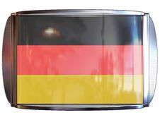 Flag To Germany Royalty Free Stock Photography