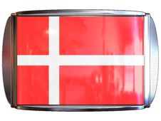 Free Flag To Danmark Royalty Free Stock Images - 3967829