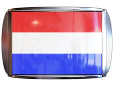 Free Flag To Netherlands Royalty Free Stock Photo - 3967905