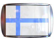 Free Flag To Finland Stock Photo - 3967910