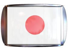 Flag To Japan Stock Images