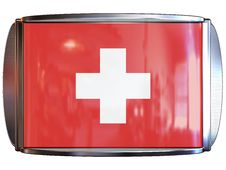Free Flag To Switzerland Royalty Free Stock Photo - 3967915