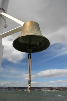 Free Detail From A Ship Bell Royalty Free Stock Photography - 3968007