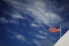 Free Flag002 Stock Photography - 3968112