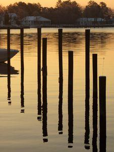 Free Sunrise Bay Stock Photography - 3969362