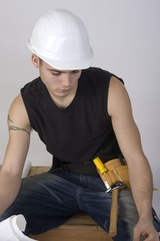 Free Construction Guy Stock Photos - 3969443