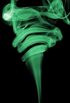 Abstract Smoke Royalty Free Stock Image