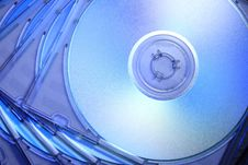 Free Abstract Compact Disc Royalty Free Stock Photo - 3969695