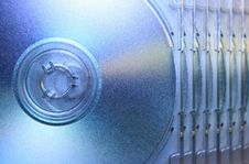Free Abstract Compact Disc 2 Stock Images - 3969714