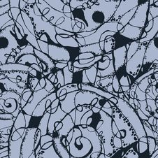 Free Abstract Grunge Seamless Pattern Stock Images - 39666174