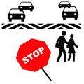 Free Crosswalk Safety Royalty Free Stock Photos - 3976928