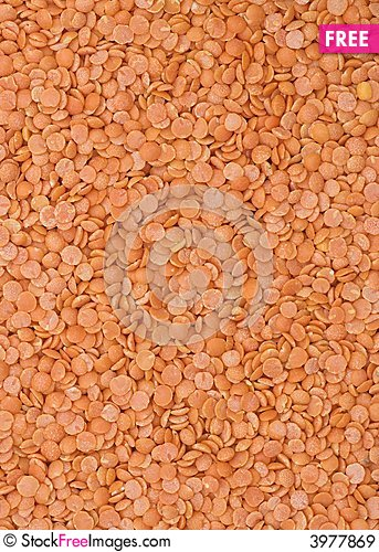Free Lentil Background Royalty Free Stock Images - 3977869