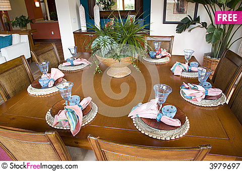 Free Dining 2685 Royalty Free Stock Photography - 3979697
