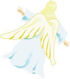 Free Golden Angel Stock Images - 3970784