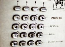 Free Number Pad Stock Photography - 3971232