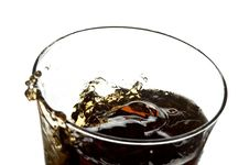 Free Glass With Cola Royalty Free Stock Photo - 3971545