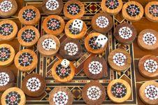 Backgammon Stock Images