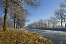 Free Winter Canal Stock Photography - 3972002