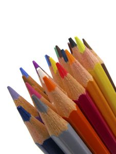 Free Pencils Royalty Free Stock Photo - 3972115