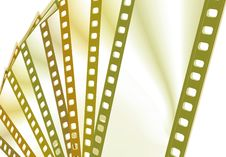 Free Color Film Frames Royalty Free Stock Images - 3972409
