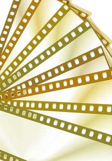 Color Film Frames Royalty Free Stock Images