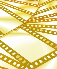 Free Color Film Frame Royalty Free Stock Image - 3972556