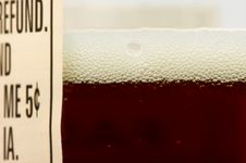 Free Close-up Of Beer Bottle Royalty Free Stock Photo - 3975625