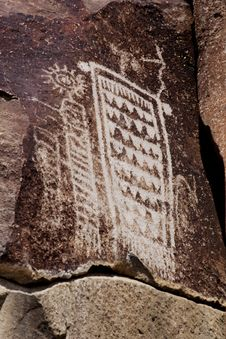 Free Coso Range Petroglyphs Stock Photography - 3975782