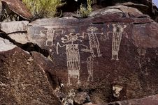 Free Coso Range Petroglyph Stock Photo - 3975830