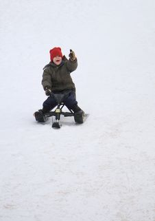 Free Descending The Slopes Royalty Free Stock Image - 3975886