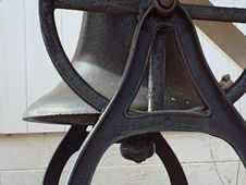 Free Old Bell - Close-up Royalty Free Stock Images - 3975919
