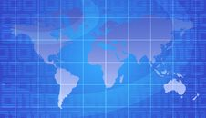 Free World Map Stock Photo - 3976340