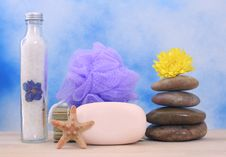 Soap And Stones Royalty Free Stock Images