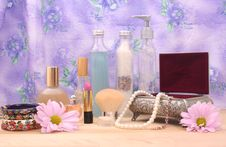 Free Cosmetics Royalty Free Stock Photo - 3976625