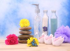 Free Spa Products Royalty Free Stock Photo - 3976735