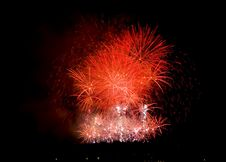 Free Fireworks Lighting Up The Sky Stock Image - 3976741