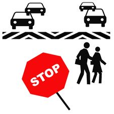 Free Crosswalk Safety Royalty Free Stock Photos - 3976928
