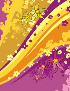 Free Floral Background Series Royalty Free Stock Image - 3977856