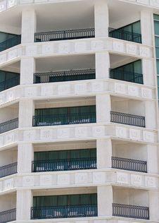 Free Large Balconies Royalty Free Stock Photo - 3978135