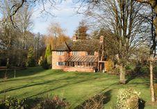 English Rural House Royalty Free Stock Photo