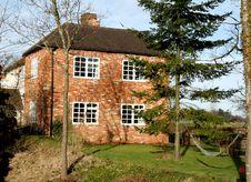English Rural Farmhouse Stock Image