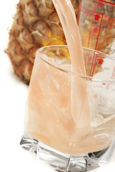 Free A Glass Of Ice Cold Juice Royalty Free Stock Photography - 3978797