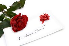 Free Beautiful Red Rose Royalty Free Stock Photography - 3978847