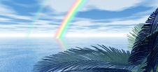 Beautiful Rainbow Royalty Free Stock Photo