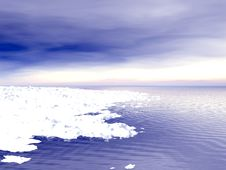 Free Winter Landscape Royalty Free Stock Image - 3979136