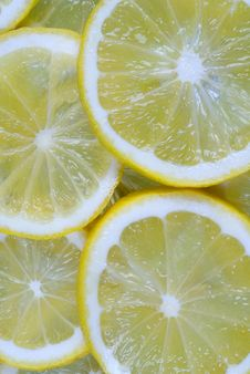 Fresh Juicy Lemon Background