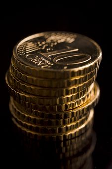 Free Coins Stock Image - 3979921